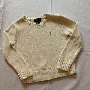 Boys size 4T Ralph Lauren polo sweater